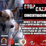 STOP CAZA – CONCENTRACIONES CONTRA INTERCAZA CÓRDOBA